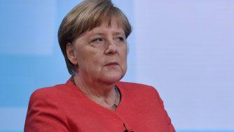 Angela Merkel in trasmissione, Germania (La Presse)