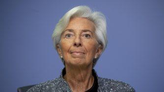 Christine Lagarde Bce Ebc (La Presse)