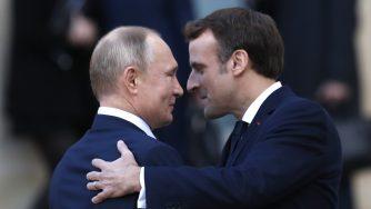 Macron e Putin