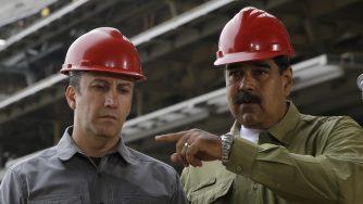 Tareck El Aissami,Nicolas Maduro
