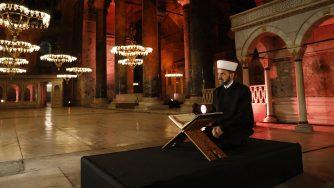 Erdogan vuole rendere Santa Sofia una moschea (La Presse)