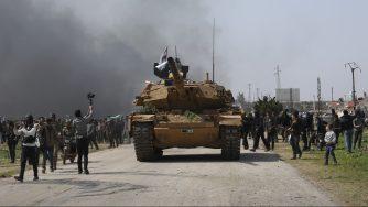 Siria, Idlib, proteste (La Presse)