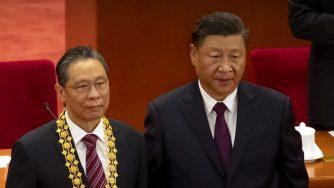 Cina, Xi Jinping e Zhong Nanshan (La Presse)