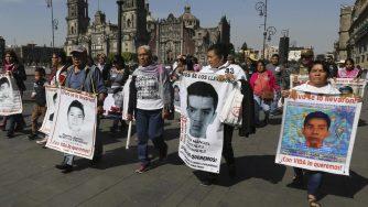 Messico studenti Ayotzinapa
