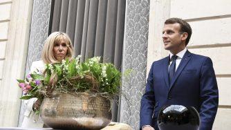 Emmanuel Macron e Brigitte