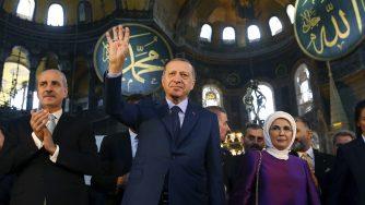 Erdogan Santa Sofia (La Presse)