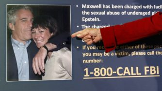 Ghislaine Maxwell, la complice di Jeffrey Epstein (LaPresse)