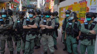 Hong Kong, protesta contro legge su sicurezza nazionale, polizia (La Presse)