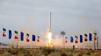 Iran satellite vettore (La Presse)