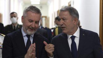 Italia-Turchia, incontro bilaterale tra ministri della Difesa ad Akar