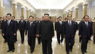 Pyongyang, 26esimo anniversario della morte di Kim Il Sung