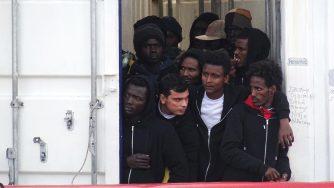 Migranti arrivano in Italia