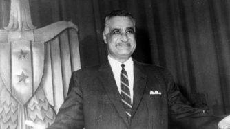 Nasser Gamal Abdel, leader dell'Egitto
