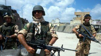 Soldati italiani in Somalia (La Presse)