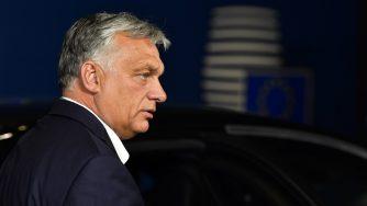 Bruxelles, vertice dell'Unione Europea Viktor Orban