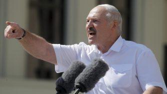 Bielorussia, a Minsk raduno pro-governativo con Lukashenko