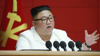Corea del Nord, Kim Jong Un a una riunione plenaria del Partito dei lavoratori a Pyongyang