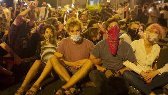 Israele, incidenti e arresti nella manifestazione anti Netanyahu (La Presse)