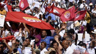 Tunisia proteste (La Presse)