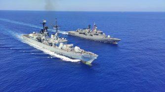 Difesa: Turchia, attività addestrativa tra fregate turche e cacciatorpediniere italiano