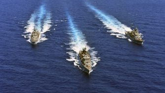 Marina greca nel Mediterraneo (La Presse)