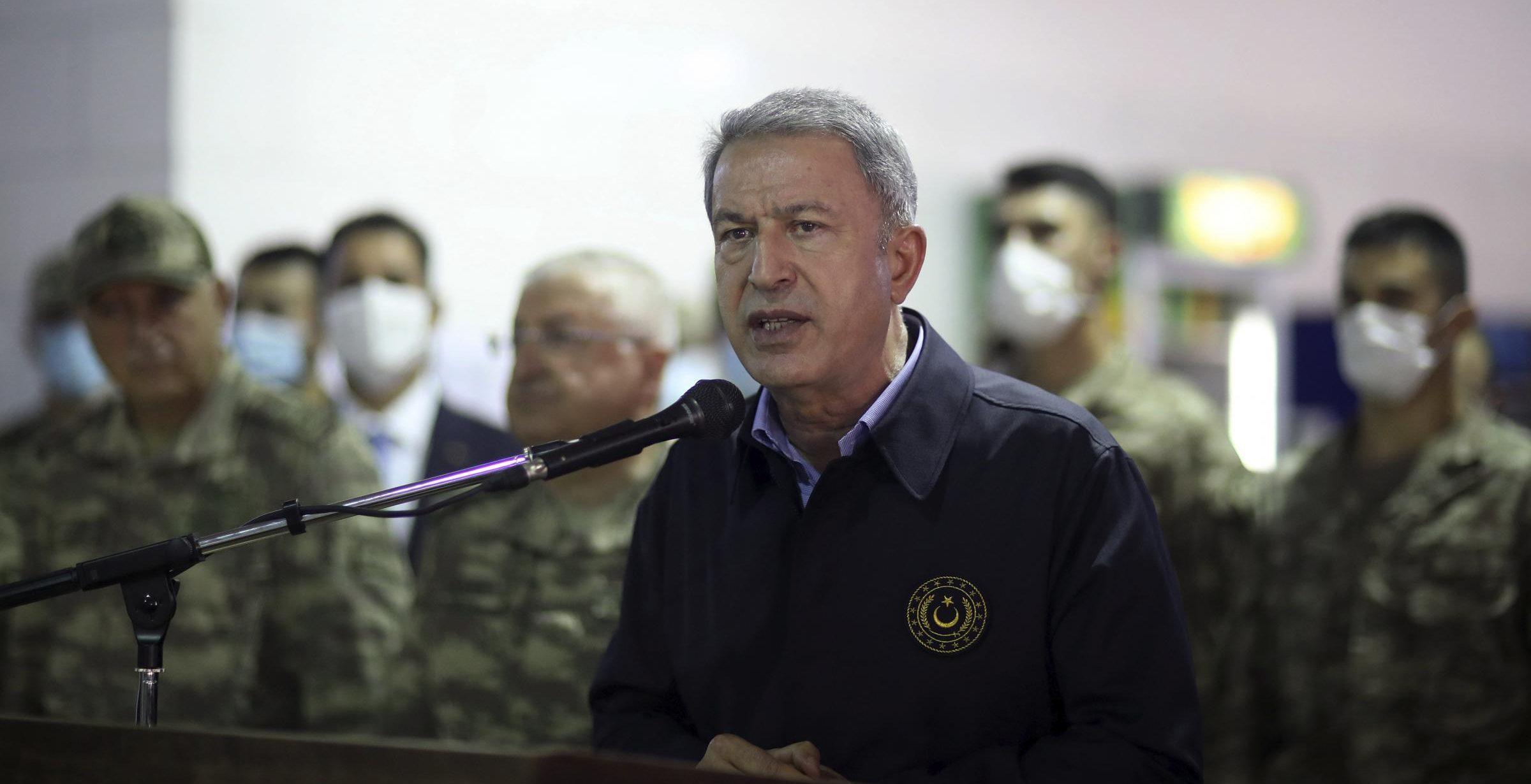 Hulusi Akar a Tripoli (La Presse)