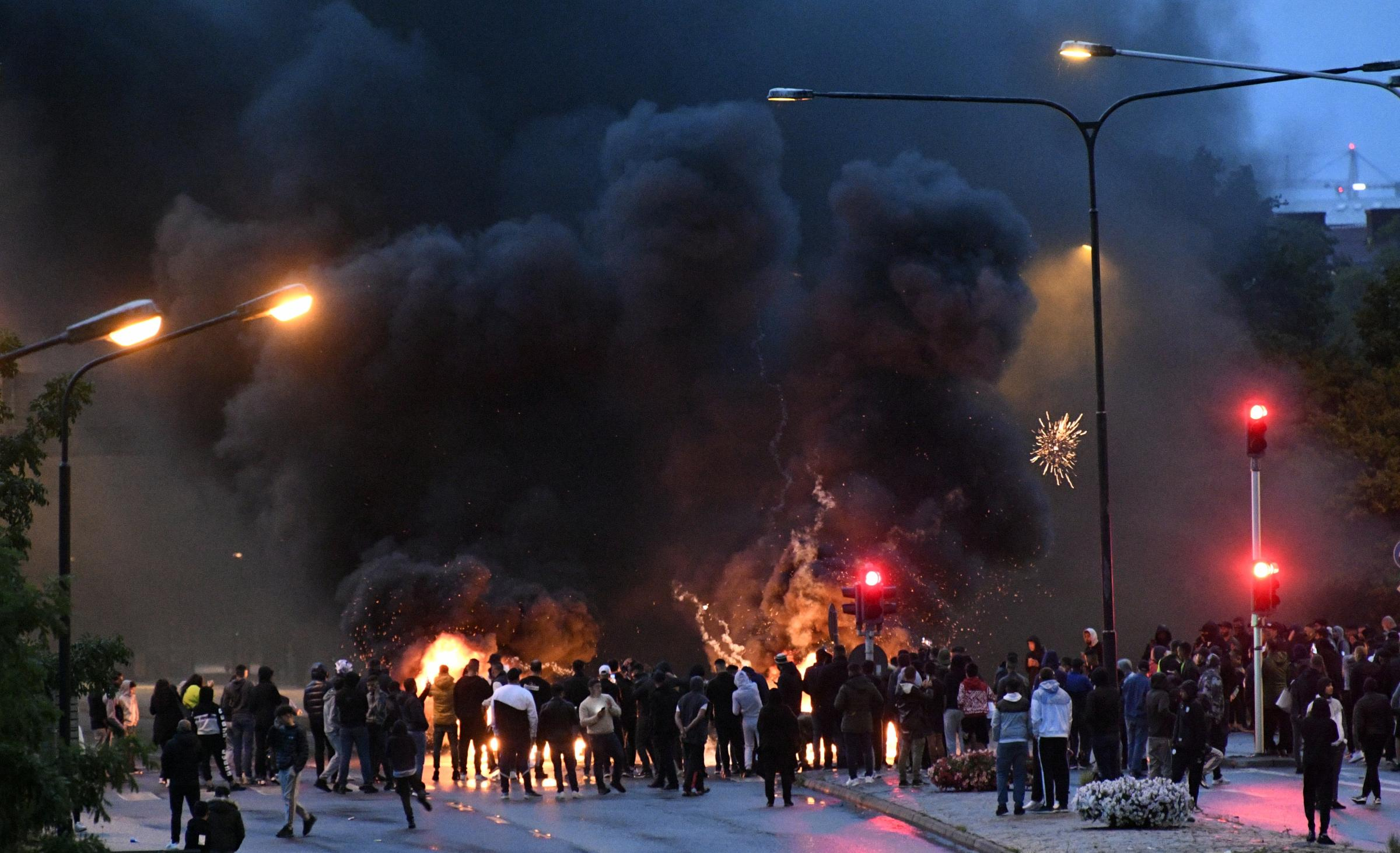 Svezia, scontri a Malmo (La Presse)
