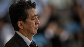 Shinzo Abe, Giappone (Getty)