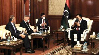 Il ministro Guerini in Libia