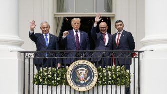 Casa Bianca la firma degli accordi tra Israele, Emirati e Bahrein (La Presse)
