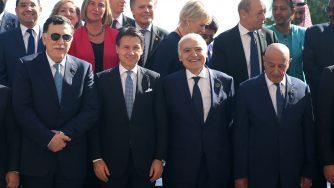Libia, conferenza di Palermo (La Presse)