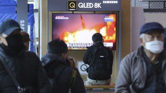 Corea del Nord, missili (La Presse)