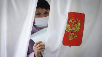 Elezioni in Russia (LaPresse)