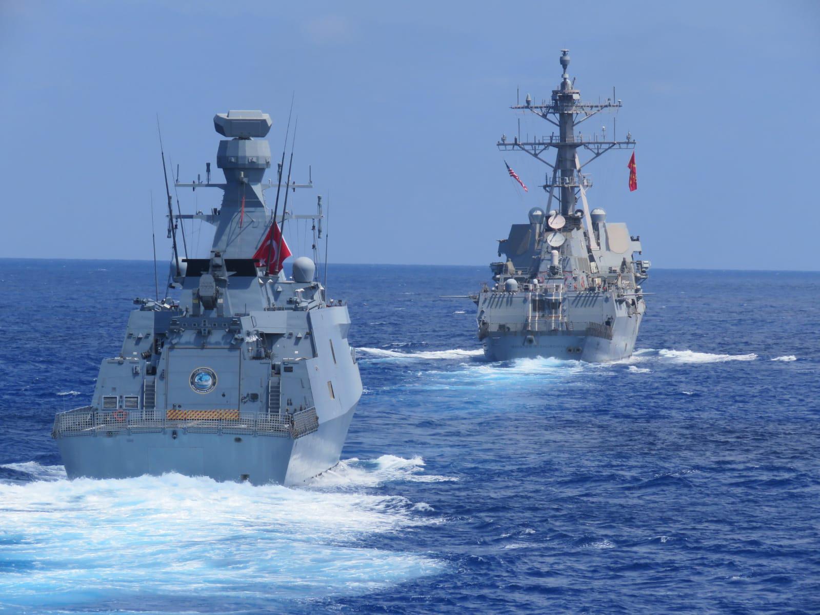 Esercitazioni Marina turca e americana (La Presse)