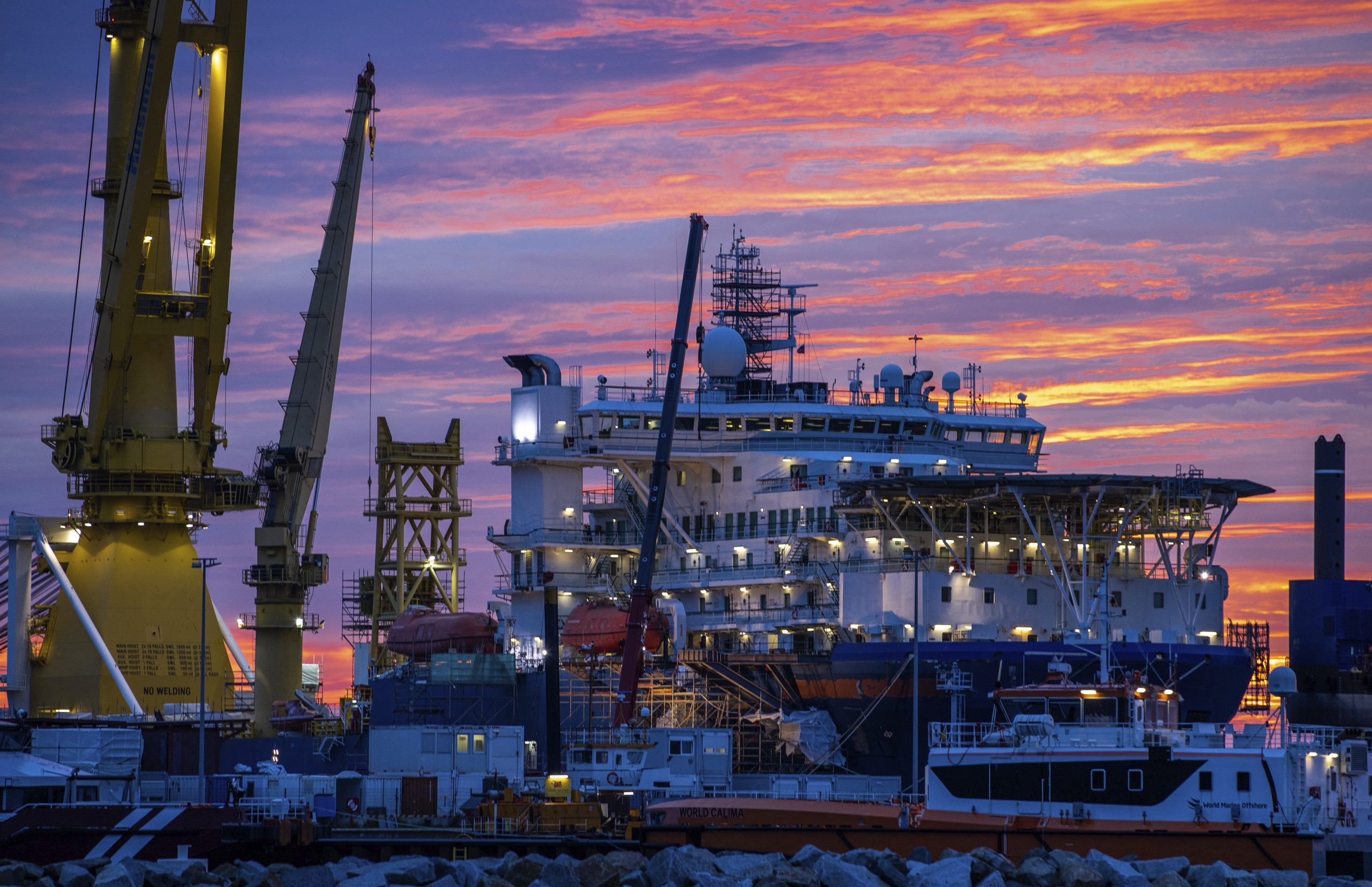 Russia e Germania accelerano sul gasdotto Nord Stream 2