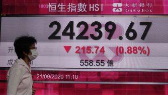 Borsa di Hong Kong (La Presse)