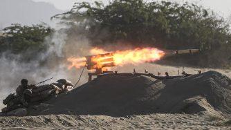 Esercitazioni militari in Iran (La Presse)
