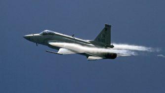 Jet caccia cinese (La Presse)