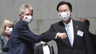Taiwan-Repubblica Ceca: Joseph Wu riceve Milos Vystrcil a Taipei