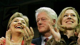La famiglia Clinton (LaPresse)