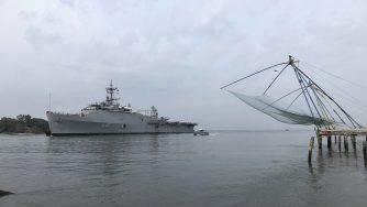 Nave della Marina militare indiana (La Presse)