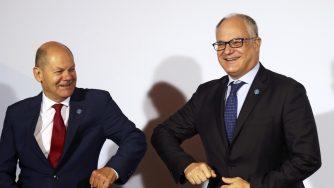 Roberto Gualtieri e Olaf Scholz (La Presse)