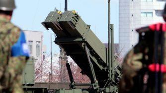Sistema missilistico Giappone (La Presse)