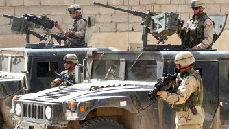 Truppe americane durante la guerra in Iraq (LaPresse)