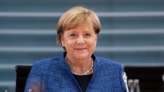 Angela Merkel incontra il governo (Getty)