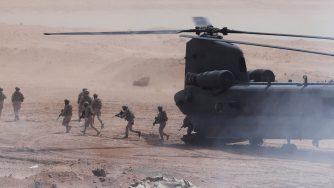 Soldati Usa in Medio Oriente (La Presse)