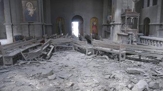 Armenia-Azerbaijan, bombardata cattedrale Ghazanchetsots (La Presse)