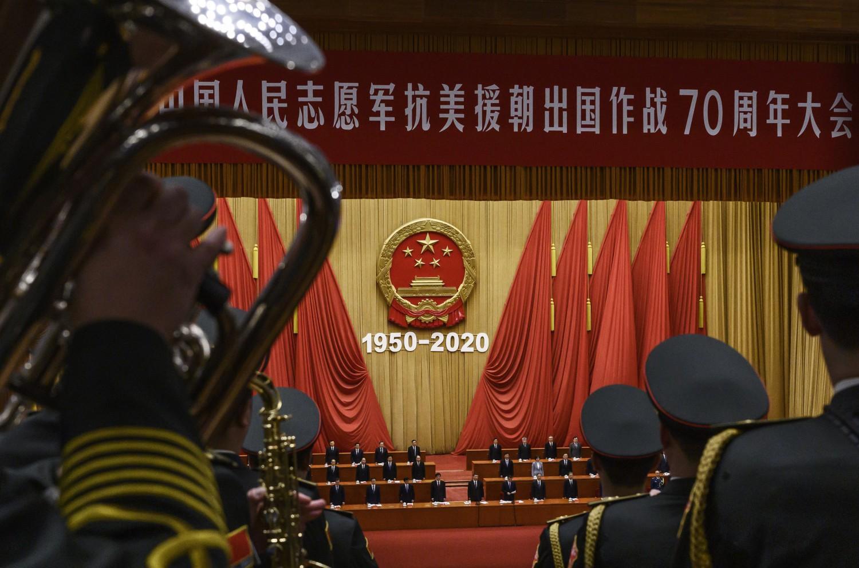 Cina commemora 70esimo anniversario dell'intervento nella guerra di Corea (Getty)