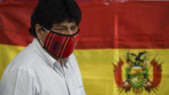 Evo Morales vota (Getty)