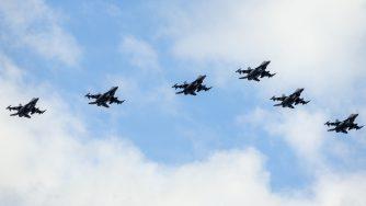 F-16 americani (La Presse)